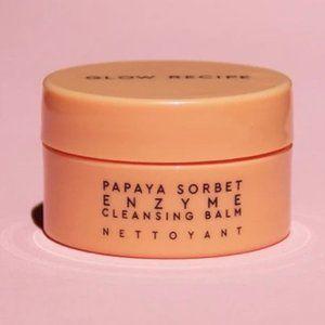 New mini Glow Recipe Papaya cleansing balm